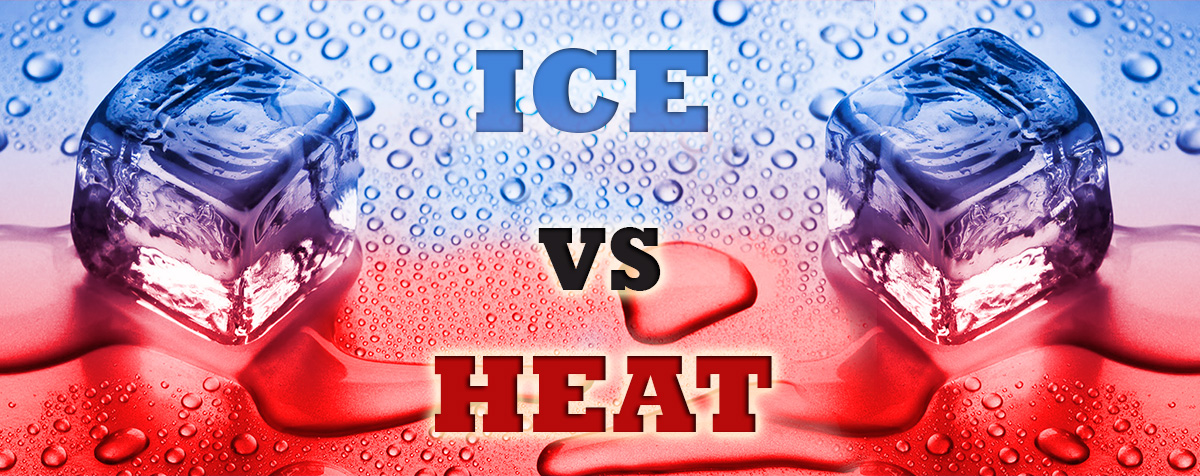 ice vs. heat