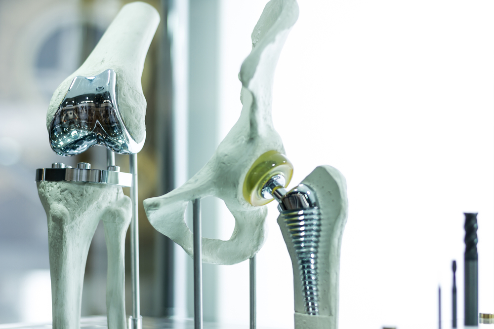 Hip and knee prosthetics